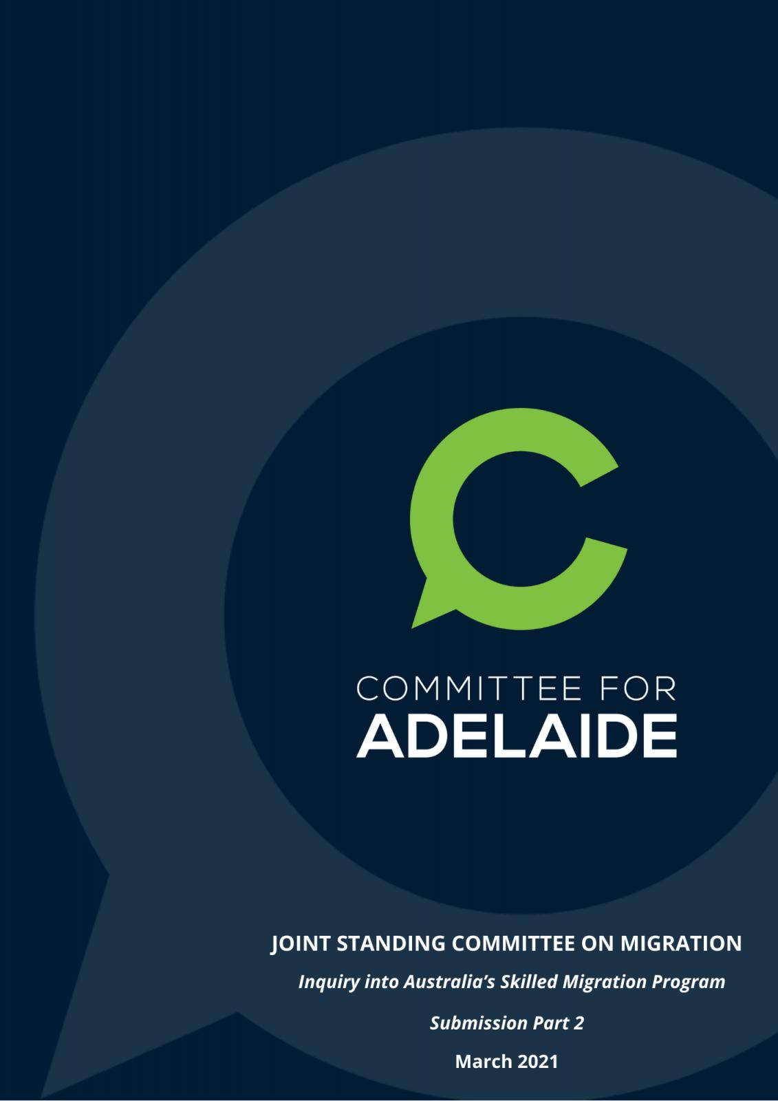 Inquiry into Australia's skilled migration program – Submission 2
